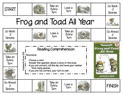 Game for Frog and Toad All Year by Arnold Lobel