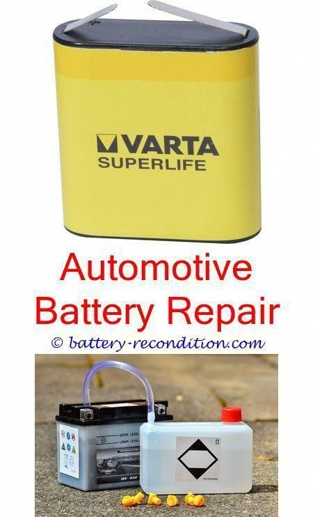 Restore Nicd Battery Recondition Car Battery Diy Reconditioned Civic Hybrid Battery Ny Battery Reconditioning Battery Repair Car Battery Charger Car Battery