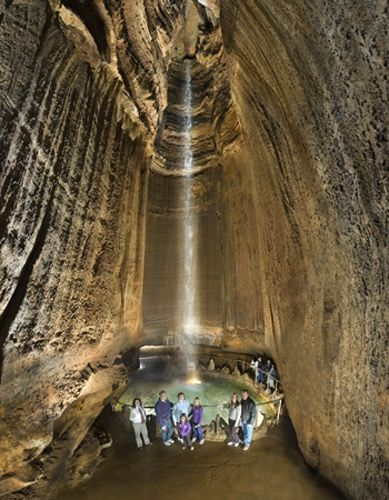 """Ruby Falls, Menphis Tennesse - Another one on my """"Places to go"""" list!"""