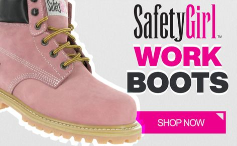 womens safety, safety boots, boots