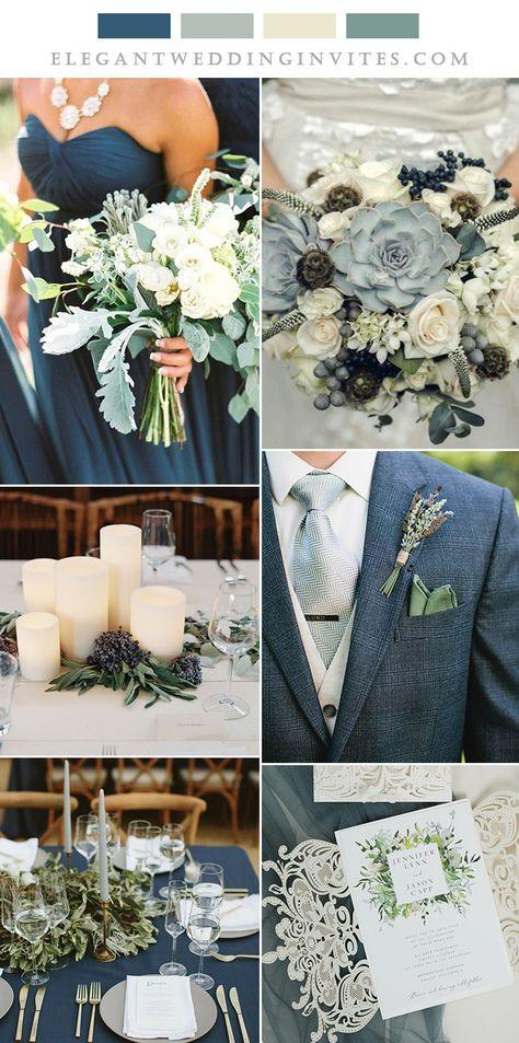 classic blue and sage green elegant wedding ideas Wedding On A Budget, Cute Wedding Ideas, Our Wedding, Wedding Planning, Dream Wedding, Wedding Ideas Green, Winter Wedding Ideas, Different Wedding Ideas, Winter Wedding Inspiration