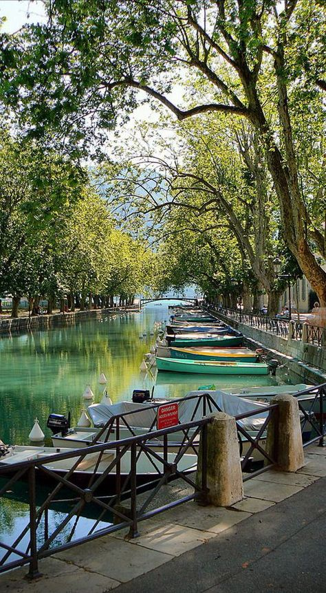 """Annecy is an alpine town in southeastern France, where the River Thiou meets Lac d'Annecy. It's known for its Vieille Ville (old town), with cobbled streets, winding canals and pastel-colore…"