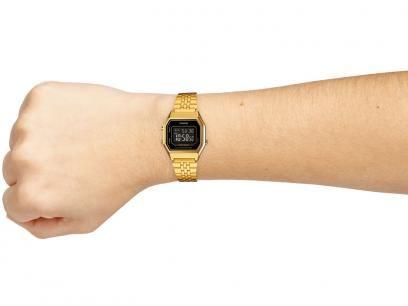 ad9bf27d079 Relógio Feminino Casio Digital - Resitente à Água Calendário Vintage  LA680WGA-1BDF com as melhores condições você encontra no Magazine Jdamasio.  Confira!