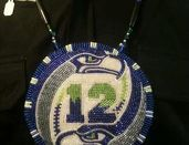 NFL Seattle Seahawks Man Green and Blue