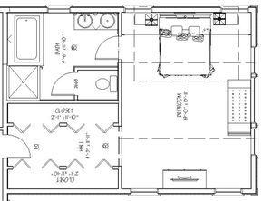Dormitorios Con Vestidor Y Bano En Suite En 2020 Diseno De