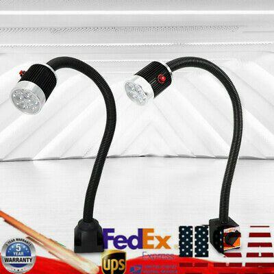 Sponsored Ebay 5w 500mm Gooseneck Cnc Machine Led Lamp Magnetic Fixed Working Light Ac 110 220v In 2020 Work Lights Led Lamp Cnc Machine