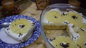 طريقة عمل حلى الاناناس البارد Recipe Food Desserts Pudding