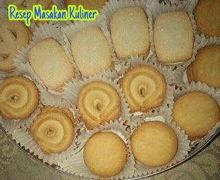 Resep Kue Monde Butter Cookies Kue Kering Mentega Resep Kue Kue Lezat