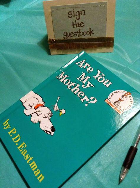 32 Cool DIY Baby Shower Guest Book Ideas