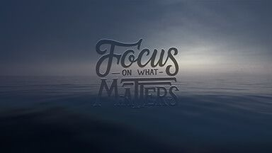 Focus On What Matters Chromebook Wallpaper