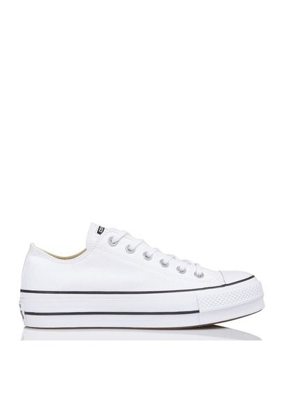 Chuck Taylor All Star Lift en toile Blanc by CONVERSE ...