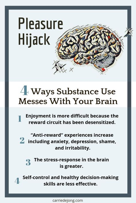Pleasure Hijack: 4 Ways Substance Use Messes With Your Brain