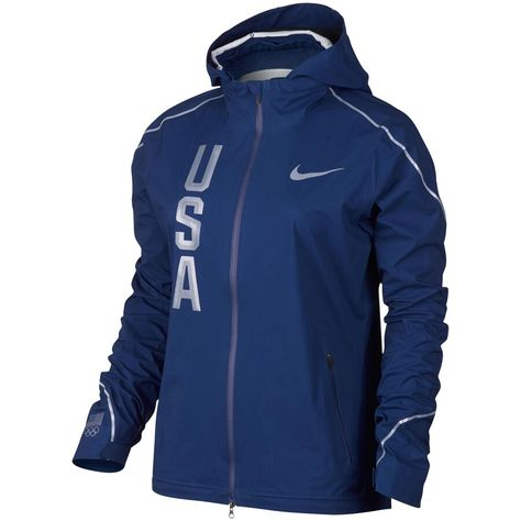 Team USA Nike Women's Hyper Shield Full-Zip Jacket - Navy