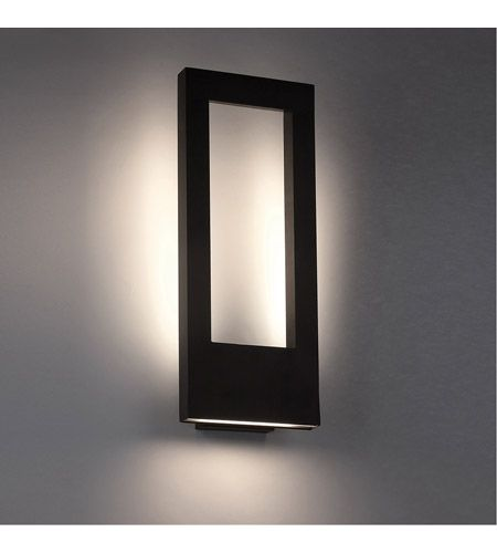 Twilight Led 21 Inch Bronze Outdoor Wall Light In 21in Contemporary Outdoor Wall Lights Modern Outdoor Lighting Outdoor Wall Lighting