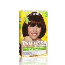 Garnier Color Naturals Hair Dye 4 5 Chestnut Akaju Dyed Hair