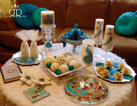 Sofreh Aghd Iraqi Aghd Qaran By Ruaa Rose Wedding Centerpieces Diy Persian Weddings Sofreh Aghd Engagement Table Ideas