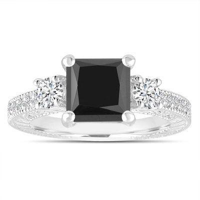 Pin On Black Diamond Engagement Rings