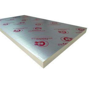 Celotex Foil Faced Polyisocyanurate Pir Insulation Board L 2 4m W 1 2m T 75mm Insulation Board Floor Insulation Insulation