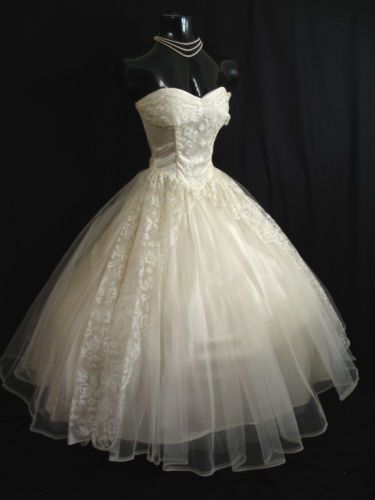 Never had my own wedding dress but even if this is before my time I would loved it.
