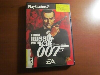 007 From Russia With Love James Bond Sony Playstation 2 2005