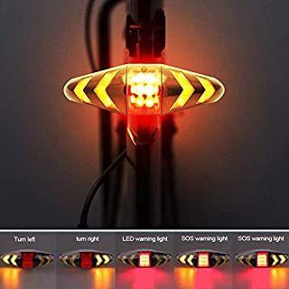 Fahrradrücklicht LED Rücklicht Fahrrad Sicherheitswarnlampe Fahrradleuchte