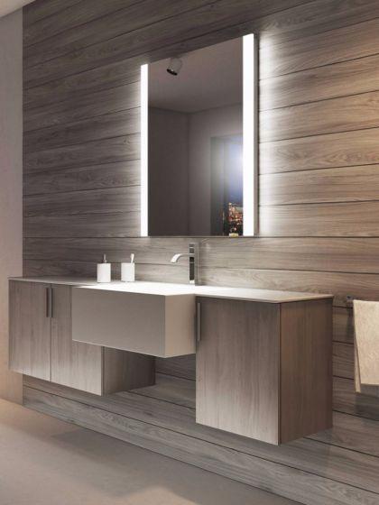 Audio Lucent Tall Led Badezimmerspiegel Designinterior