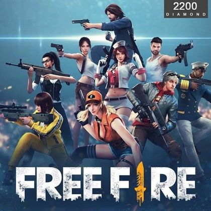 Free Fire 2200 Diamonds Direct Top Up The Gamers Mall International Diamond Free Diamonds Direct Fire Image