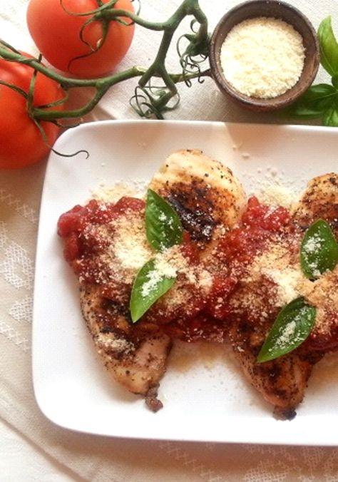 Pollo estilo italiano con queso parmesano rallado KRAFT-Este Pollo estilo Italiano con Queso Parmesano Rallado KRAFT Grated Parmesan Cheese es reconfortante y es una rica opción para los meses de invierno.