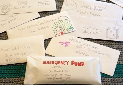 My Simple Savings Plan: How An Envelope Fixed My Finances