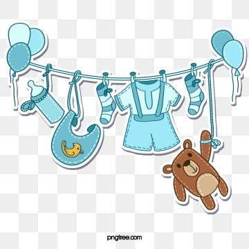 Sinie Detskie Tovary Igrushka Dekorativnaya Bumaga Igrushki Klipart Prekrasnyj Uhod Za Detmi Png I Psd Fajl Png Dlya Besplatnoj Zagruzki Baby Clip Art Baby Shower Clipart Baby Article