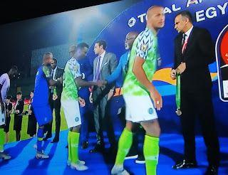Ekeigwe Roland Nigeria Vs Tunisia Tunisia Nigeria Sadio Mane