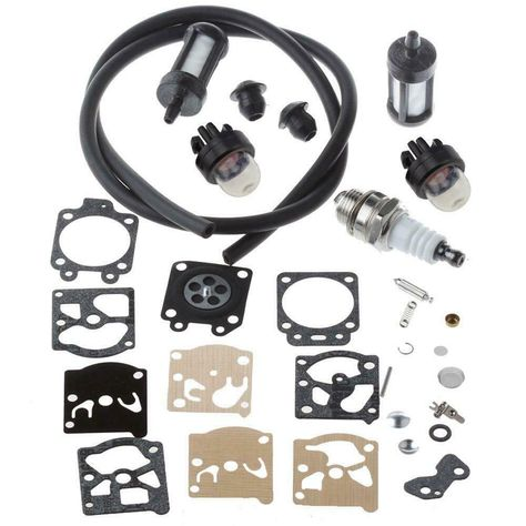 For STIHL FS36 FS40 FS44 Carburetor Repair Kit with Primer