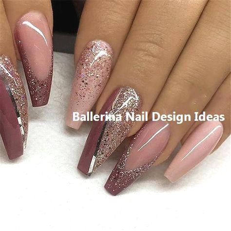 elegant känsliga färger söt Trendy Ballerina Nail art 2019 #nailart   Nails i 2019   Naglar ...