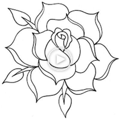 Como Dibujar Una Rosa Rosas Para Dibujar A Lapiz Como Dibujar Rosas Dibujos De Rosas Como Dibujar
