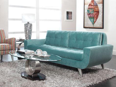 Ava Sofa Turquoise Dania   For The Home   Pinterest   Scandinavian, Dream  Furniture And Scandinavian Style