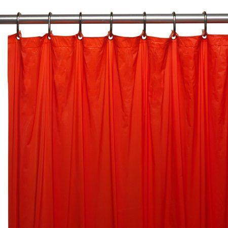 Home Vinyl Shower Curtains Curtains Bathroom Red