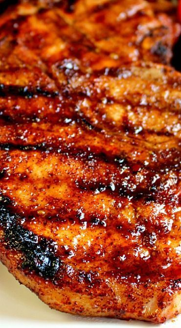 Apple Cider Glazed Pork Chops.These Apple Cider Glazed Pork Chops are AMAZING! Perfectly seasoned. juicy. delicious and ready in under 30 minutes. A great dinner any night of the week!