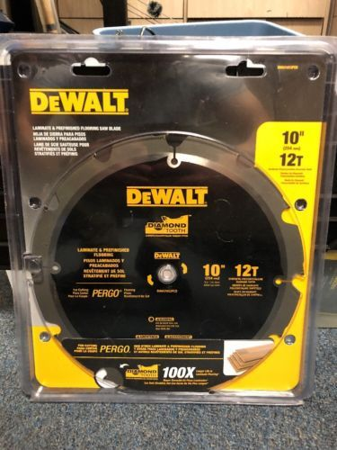 Saw Blades 122837 New Dwa31012pcd Dewalt 10 12t Pcd Laminate Saw Blade New Buy It Now Only 45 On Ebay Saw Blade Dewalt Blade