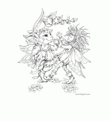 Intricate Fairy Coloring Pages | Here are a few Free Fairy Coloring ...