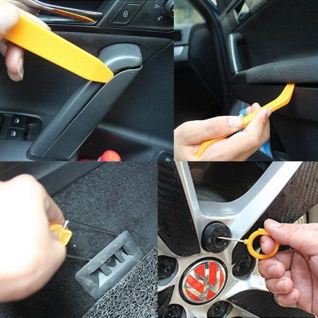 Car Repair Tools Kit Plastic Auto Panel Doors Clip Panel Dashboard Removal Sets