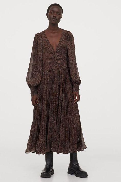 HM Voluminous Chiffon Dress
