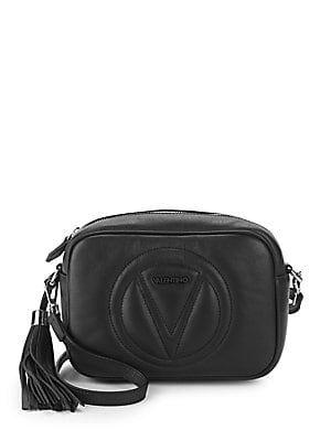 Valentino By Mario Valentino Mia Leather Camera Bag Bags Leather Crossbody Bag Leather Crossbody