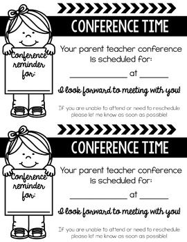 Conference Forms In Spanish And English Parent Teacher