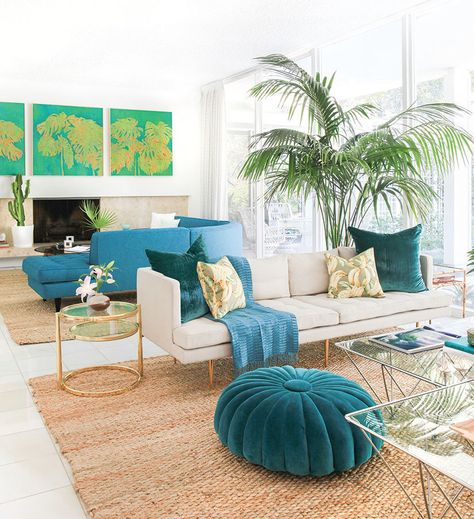 Carefree and quirky Palm Springs-style oasis | Style at Home