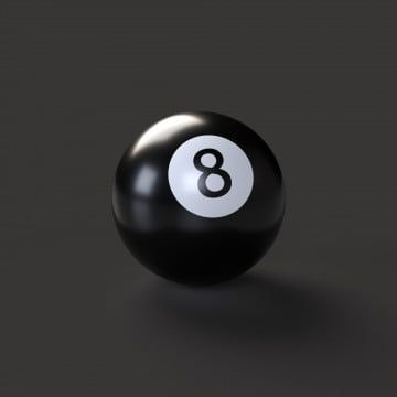 Billiard Ball Number 8 With Realistic Shadows Isolated On Black Background 8 Billiards Pyramid Png Transparent Clipart Image And Psd File For Free Download Billiards Billiard Balls Clip Art