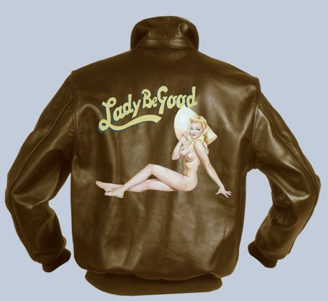 Lady B Good Nose Art Custom configuration is available. The price is for the art work only, jacket is sold separately.