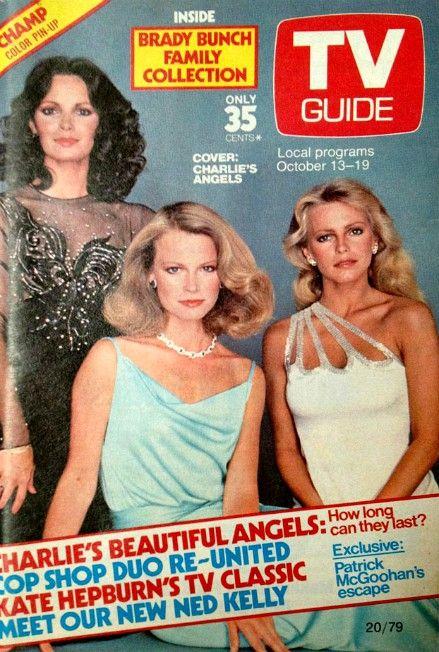 TV Guide (Australia) Oct  13-19, 1979 ~ Jaclyn Smith, Shelley Hack