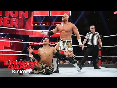 Buddy Murphy uses brute force to counter Akira Tozawa: WWE Elimination Chamber 2019 Kickoff Match - YouTube