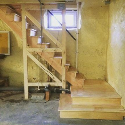 63 Ideas For Old Basement Stairs Railings Basement Stairs Basement   Replacing Old Basement Stairs   Stair Railing   Staircase Remodel   Staircase Railings   Stair Tread   Stair Risers