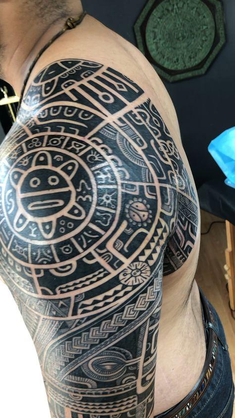 Taino Tattoo symbols Michael Fatutoa